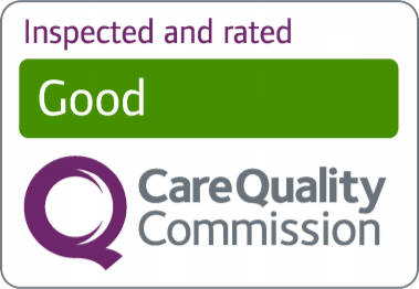 Inspected and rated: Good, CQC
