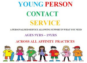 Young Person Contact Service banner